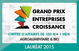 Le groupe MOM primé au Grand Prix des Entreprises de Croissance 2015